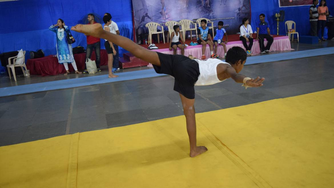 Interschool Zonal Gymnastics Competition 2017